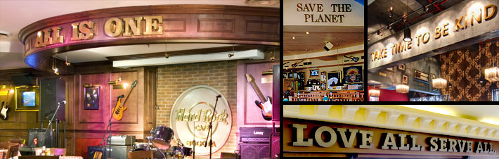 hard rock cafe mission statement